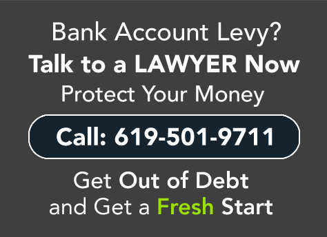 Bank Account Levy?