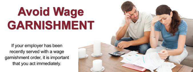 wage garnishment bankruptcy lawyer